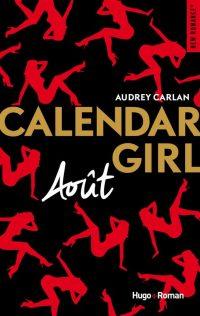 Calendar Girl Août | Un livre, des mots